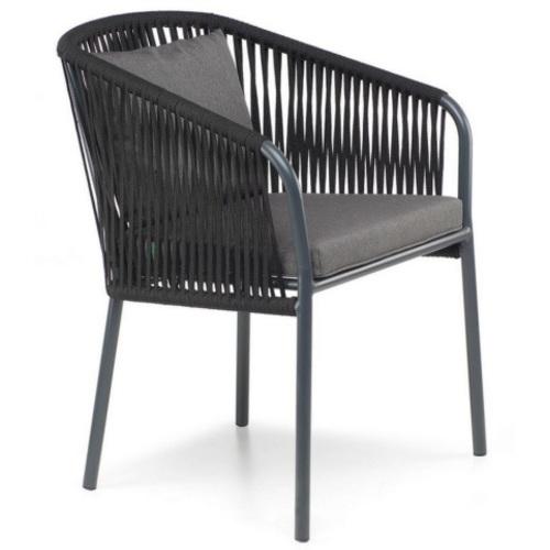 Кресло Твист черное Pradex