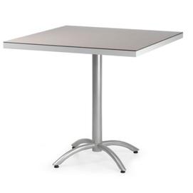 Стол обеденный Джаз квадрат серый Pradex