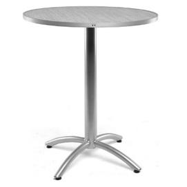 Стол обеденный круг Джаз серый Pradex