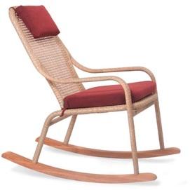 Кресло качалка Лэйзи бежевое Pradex