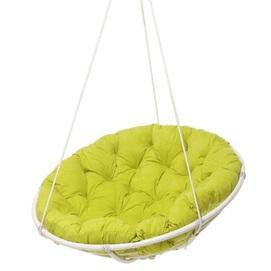 Кресло подвесной Папасан салатовое Pradex