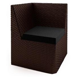 Угловой элемент Капри коричневый Pradex