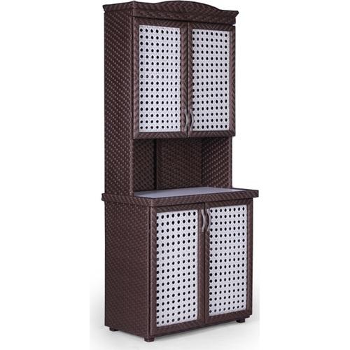 Шкаф Аризона коричневый Pradex