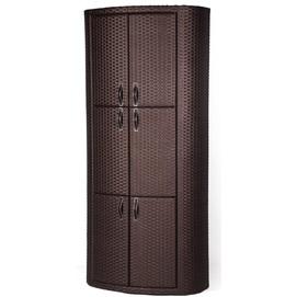Шкаф Гео коричневый Pradex