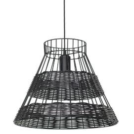 Лампа подвесная Рио 29 черная Pradex