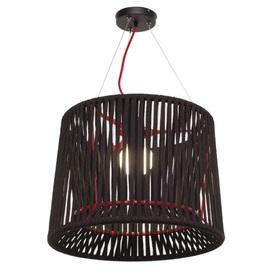 Лампа подвесная Твист черная Pradex