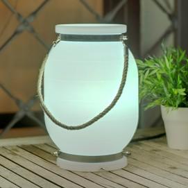 Лампа настольная New Garden Candela белая