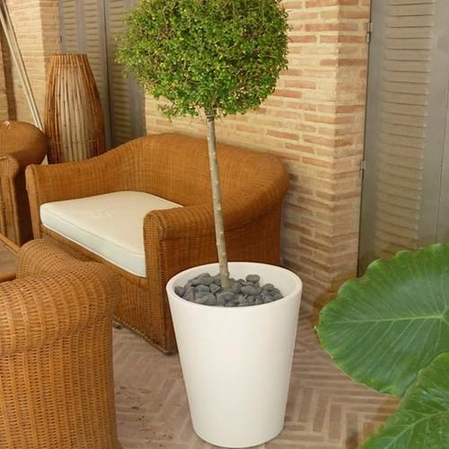 Горшок New Garden Gerbera белый