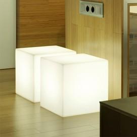 Лампа настольная New Garden Cuby белая