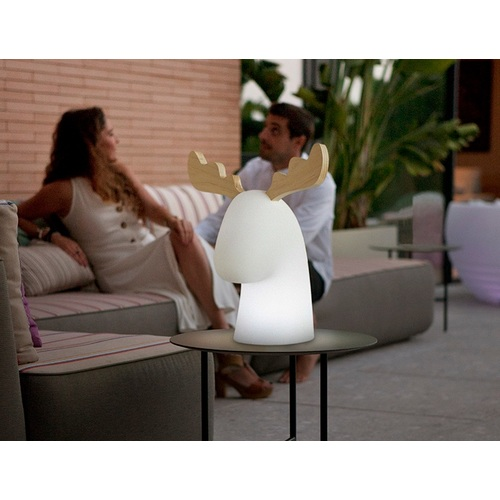 Лампа настольная New Garden Rudy белая