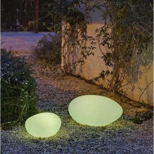 Лампа настольная New Garden Petra цветная