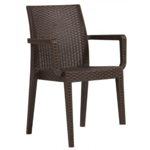 Кресло Сиеста коричневое Mebelmodern 2019