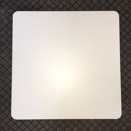 Столешница для стола Алор 60*60 см белая Mebelmodern 2019