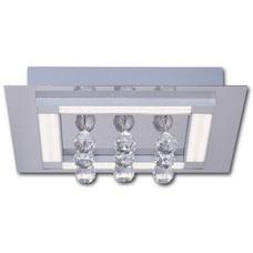 Светильник потолочный LEGGERO 5374PL серебро Lis