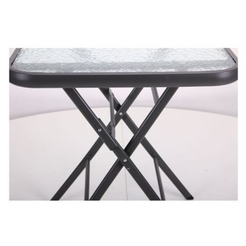 Стол складной Mexico темно-серый 519718 Famm 2019