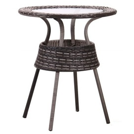 Стол обеденный  Catalina 521809 серый Famm 2019