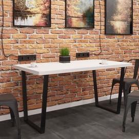 Стол обеденный Бинго Лайт натуральный Металл Дизайн