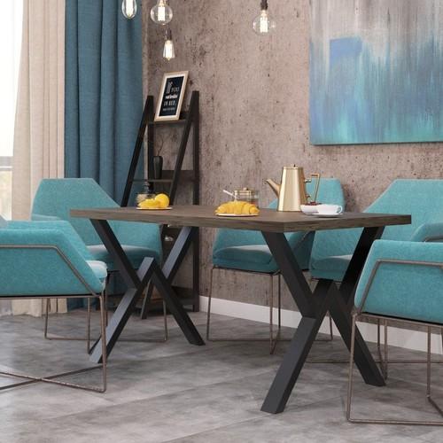 Стол обеденный Виннер натуральный Металл Дизайн