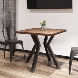 Стол обеденный Свен-4 натуральный Металл Дизайн