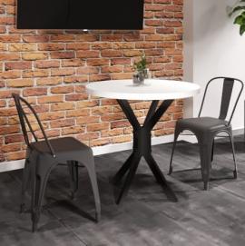 Стол обеденный Фолд белый Металл Дизайн