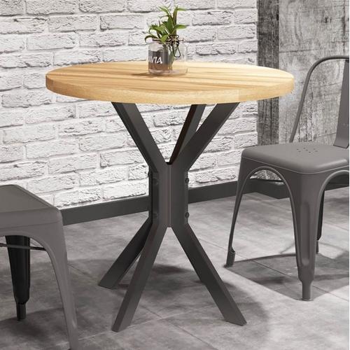 Стол обеденный Фолд 80см черный Металл Дизайн