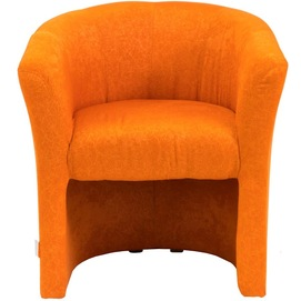 Кресло Бум оранжевое, ткань (KBR0000017) RICHMAN
