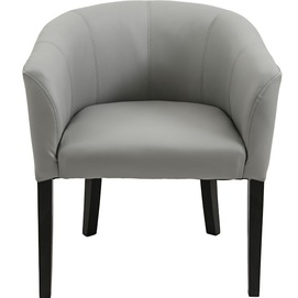 Кресло Версаль серый, кожзам (KBR0000009) RICHMAN