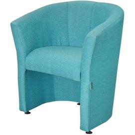 Кресло Бум голубое, ткань (KBR0000017) RICHMAN