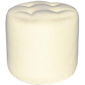 Пуф Винс молочный белый (KBR0000189) RICHMAN