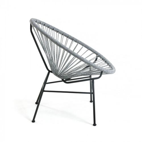 Кресло Samantha серое CC1216J03 Laforma 2019