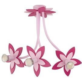 Люстра детская FLOWERS 6894 розовая Nowodvorski 2019
