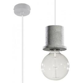 Лампа подвесная BONO SL.0283 серый бетон Sollux