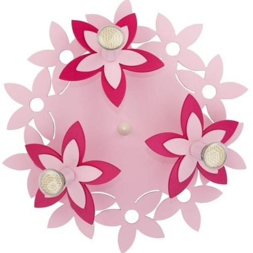 Люстра детская FLOWERS 6895 розовая Nowodvorski 2019