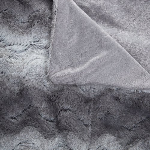Плед Rosanna 130х160 см AA4436J03 серый Laforma 2019