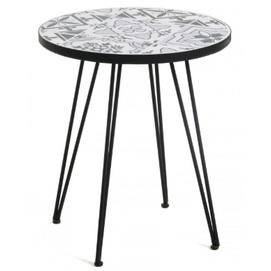 Стол кофейный Oswalda CC1219K05 серый Laforma 2019