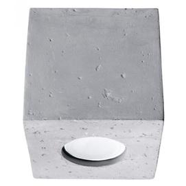 Точечный светильник QUAD SL.0489 серый бетон Sollux