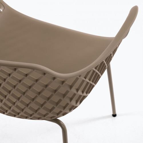 Кресло QUINN CC1223S12 бежевое Laforma2019