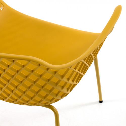 Кресло QUINN CC1223S31 желтое Laforma2019