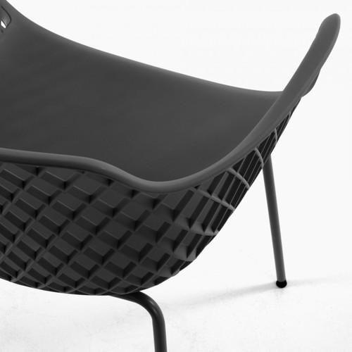 Кресло QUINN CC1223S02 темно-серое Laforma2019
