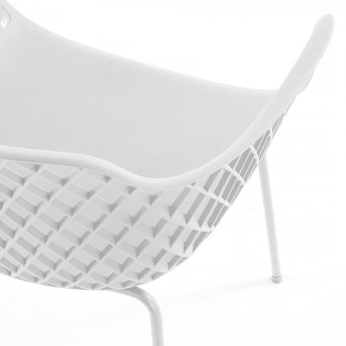 Кресло QUINN CC1223S05 белое Laforma2019