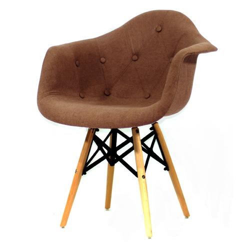 Кресло Leon XXL коричневое 8965 Thexata 2019
