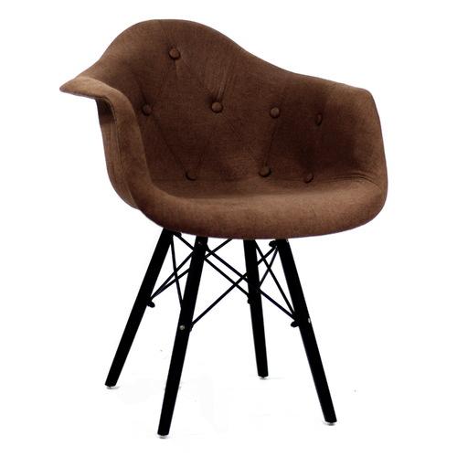 Кресло Leon BK коричневое 8941 Thexata 2019