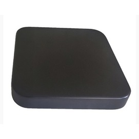 Столешница Аурит квадратная 70 черная 18 мм Aurit
