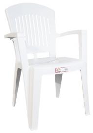 Кресло Aspendos белое Ірак