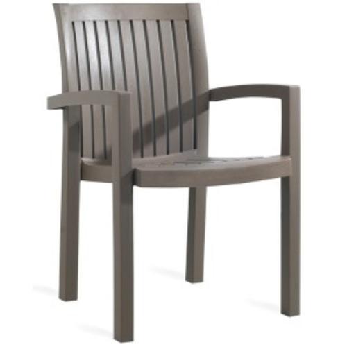 Кресло Нета серо-коричневое 61 PAPATYА
