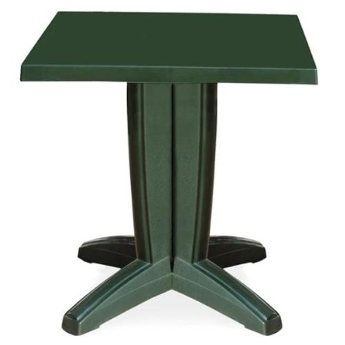 Стол обеденный Квадро 70*70 зеленый PAPATYА