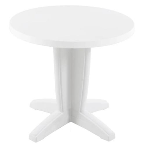 Стол обеденный Квадро 80 см белый PAPATYА