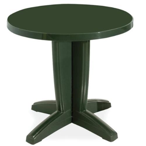 Стол обеденный Квадро 80 см зеленый PAPATYА