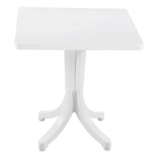 Стол обеденный Фаворит 70*70 см белый PAPATYА