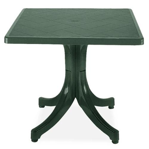 Стол обеденный Фаворит 80*80 см зеленый PAPATYА